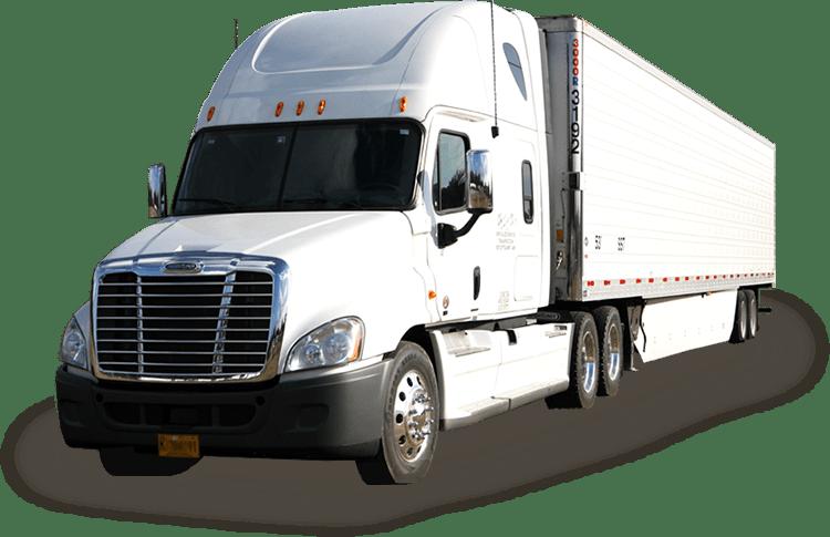 Semi-Truck and Trailer