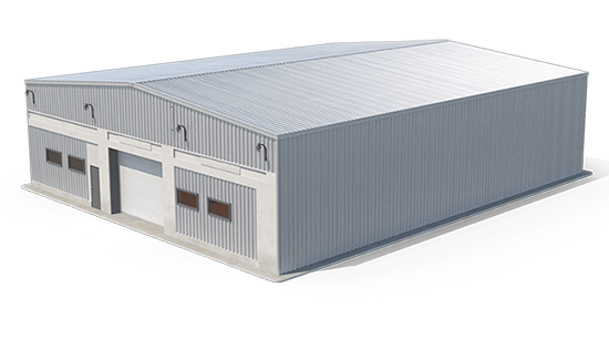 warehouse building graphic